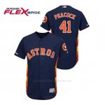 Camiseta Beisbol Hombre Houston Astros Brad Peacock 150th Aniversario Patch Flex Base Azul