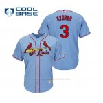 Camiseta Beisbol Hombre Cardinals Jedd Gyorko Cool Base Majestic Alternato Alternato Horizon Blue