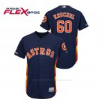 Camiseta Beisbol Hombre Houston Astros Dallas Keuchel 150th Aniversario Patch Flex Base Azul