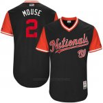 Camiseta Beisbol Hombre Washington Nationals 2017 Little League World Series Adam Eaton Azul