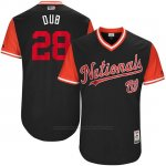Camiseta Beisbol Hombre Washington Nationals 2017 Little League World Series Jayson Werth Azul