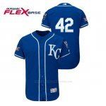 Camiseta Beisbol Hombre Kansas City Royals 2019 Jackie Robinson Day Flex Base Azul