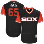 Camiseta Beisbol Hombre Chicago White Sox 2017 Little League World Series 65 Nate Jones Negro