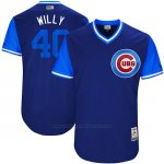 Camiseta Beisbol Hombre Chicago Cubs 2017 Little League World Series 40 Willson Contreras