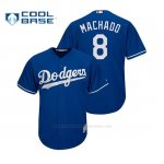 Camiseta Beisbol Nino Los Angeles Dodgers Manny Machado Cool Base Replica Royal
