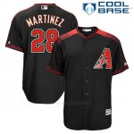Camiseta Beisbol Hombre Arizona Diamondbacks 28 Jd Martinez Negro Cool Base