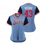 Camiseta Beisbol Mujer Minnesota Twins Addison Reed 2018 Llws Players Weekend Reeder Light Toronto Blue Jays