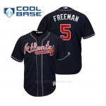 Camiseta Beisbol Hombre Atlanta Braves Freddie Freeman Cool Base Alternato 2019 Azul