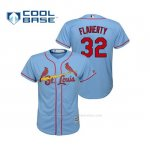 Camiseta Beisbol Nino St. Louis Cardinals Jack Flaherty Cool Base Majestic Alternato Horizon 2019 Azul