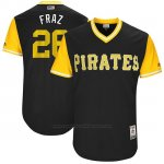 Camiseta Beisbol Hombre Pittsburgh Pirates 2017 Little League World Series Adam Frazier Negro