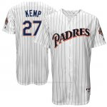 Camiseta Beisbol Hombre San Diego Padres San Diego Matt Kemp Turn Back The Clock Blanco