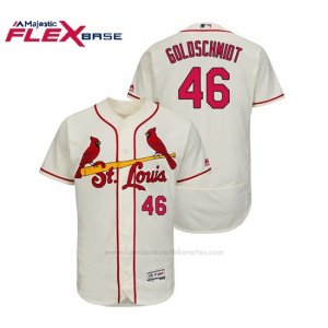 Camiseta Beisbol Hombre St. Louis Cardinals Paul Goldschmidt Flex Base Autentico Collezione Alternato Crema