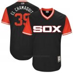 Camiseta Beisbol Hombre Chicago White Sox 2017 Little League World Series 39 Alen Hanson Negro