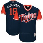 Camiseta Beisbol Hombre Minnesota Twins 2017 Little League World Series Ehire Adrianza Azul