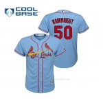 Camiseta Beisbol Nino St. Louis Cardinals Adam Wainwright Cool Base Majestic Alternato Horizon 2019 Azul