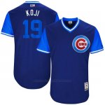 Camiseta Beisbol Hombre Chicago Cubs 2017 Little League World Series 19 Koji Uehara