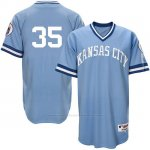 Camiseta Beisbol Hombre Kansas City Royals Eric Hosmer Light Azul Turn Back The Clock