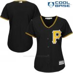 Camiseta Beisbol Hombre Pittsburgh Pirates Negro Cool Base
