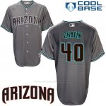 Camiseta Beisbol Hombre Arizona Diamondbacks 40 Andrew Chafin Cool Base Gris