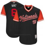 Camiseta Beisbol Hombre Washington Nationals 2017 Little League World Series Anthony Rendon Azul