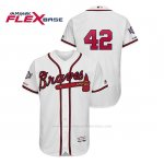 Camiseta Beisbol Hombre Atlanta Braves 2019 Jackie Robinson Day Flex Base Blanco