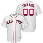 Camiseta Nino Boston Red Sox Personalizada Blanco