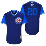 Camiseta Beisbol Hombre Chicago Cubs 2017 Little League World Series 20 Victor Caratini