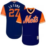 Camiseta Beisbol Hombre New York Mets 2017 Little League World Series Jeurys Familia Royal