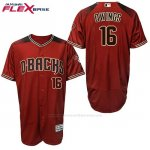 Camiseta Beisbol Hombre Arizona Diamondbacks 16 Chris Owings 2017 Flex Base