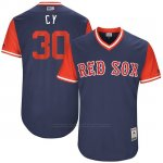 Camiseta Beisbol Hombre Boston Red Sox 2017 Little League World Series Chris Young Azul