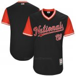 Camiseta Beisbol Hombre Washington Nationals 2017 Little League World Series Azul