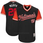 Camiseta Beisbol Hombre Washington Nationals 2017 Little League World Series Daniel Murphy Azul