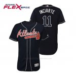 Camiseta Beisbol Hombre Atlanta Braves Ender Inciarte Flex Base Autentico Collezione Alternato 2019 Azul