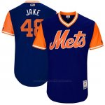 Camiseta Beisbol Hombre New York Mets 2017 Little League World Series Jacob Degrom Royal