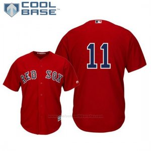 Camiseta Beisbol Hombre Boston Red Sox Rafael Devers Cool Base Alterno Replica Scarlet
