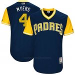 Camiseta Beisbol Hombre San Diego Padres 2017 Little League World Series Wil Meyers Azul