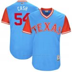 Camiseta Beisbol Hombre Texas Rangers 2017 Little League World Series Andrew Cashner Azul