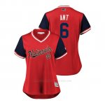 Camiseta Beisbol Mujer Washington Nationals Anthony Rendon 2018 Llws Players Weekend Ant Rojo