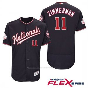 Camiseta Beisbol Hombre Washington Nationals Ryan Zimmerman Azul 2018 All Star Alterno Flex Base
