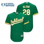 Camiseta Beisbol Hombre Oakland Athletics Matt Olson Cool Base Kelly Green