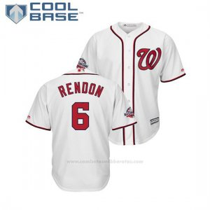 Camiseta Beisbol Hombre Washington Nationals Anthony Rendon 2018 All Star Game Cool Base Blanco