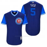 Camiseta Beisbol Hombre Chicago Cubs 2017 Little League World Series 5 Albert Almora
