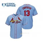 Camiseta Beisbol Hombre Cardinals Matt Carpenter Cool Base Majestic Alternato Alternato Horizon Blue