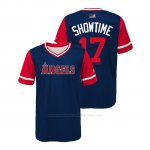 Camiseta Beisbol Nino Los Angeles Angels Shohei Ohtani 2018 Llws Players Weekend Showtime Azul