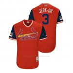 Camiseta Beisbol Hombre St. Louis Cardinals Jedd Gyorko 2018 Llws Players Weekend Jerk Oh Rojo