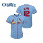 Camiseta Beisbol Nino St. Louis Cardinals Paul Dejong Cool Base Majestic Alternato Horizon 2019 Azul