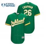 Camiseta Beisbol Hombre Oakland Athletics Matt Chapman Cool Base Kelly Green