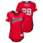 Camiseta Beisbol Mujer All Star Game Buster Posey 2018 1ª Run Derby National League Rojo