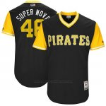 Camiseta Beisbol Hombre Pittsburgh Pirates 2017 Little League World Series Ivan Nova Negro
