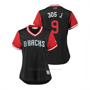 Camiseta Beisbol Mujer Arizona Diamondbacks Jon Jay 2018 Llws Players Weekend 305 J Negro